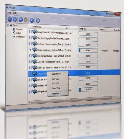 MiniGet برنامج ميني جت لتنزيل الملفات من النت