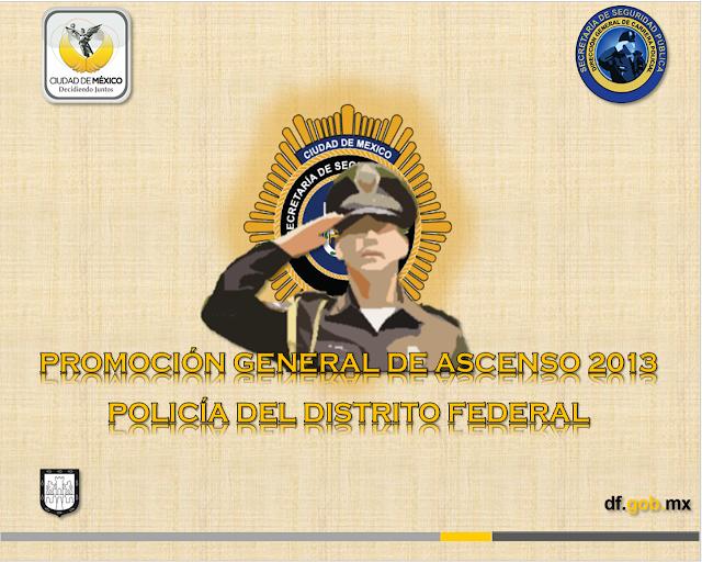 aviso al personal inscrito en la promocion general de ascensos 2013