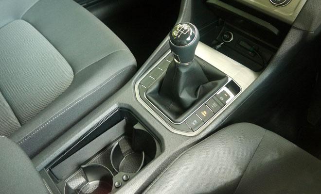 Volkswagen Golf SV gear lever