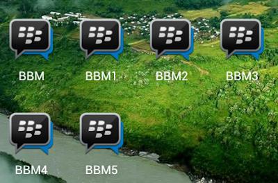 download dual bbm transparan