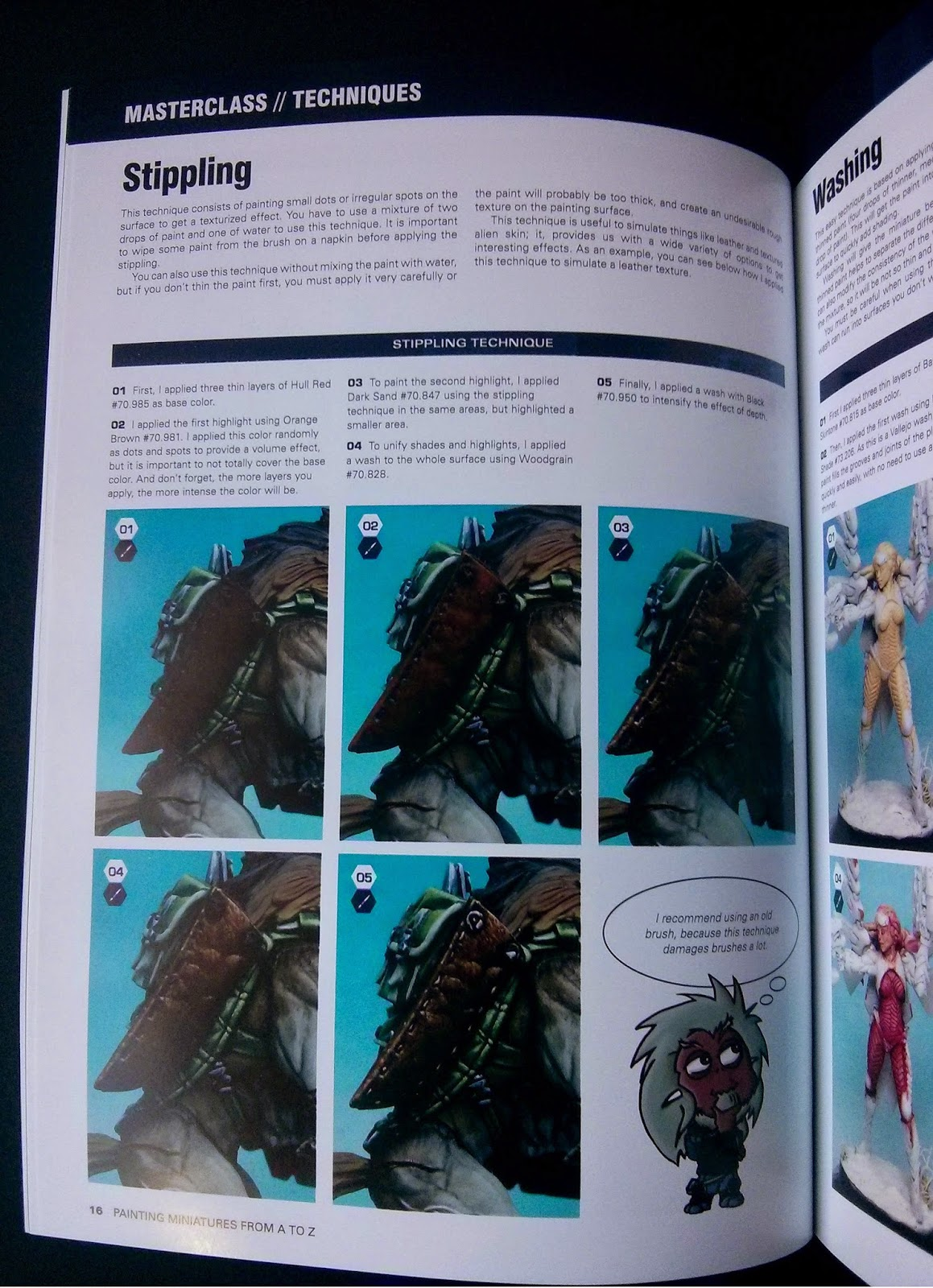 Painting miniatures from A to Z.