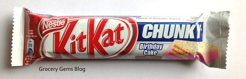Grocery Gems Kit Kat Chunky Birthday Cake
