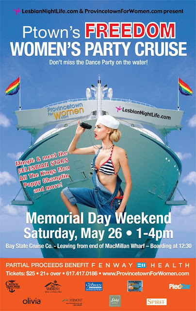 May 26 - Freedom Women's Party Cruise 1-4pm