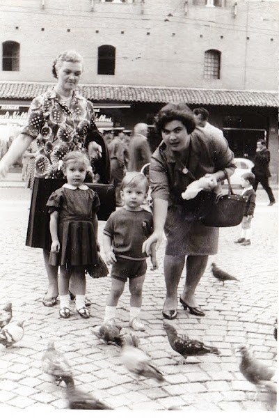 Nonna Amabile, Alessandra, Alessandro, Mamma Anna Maria