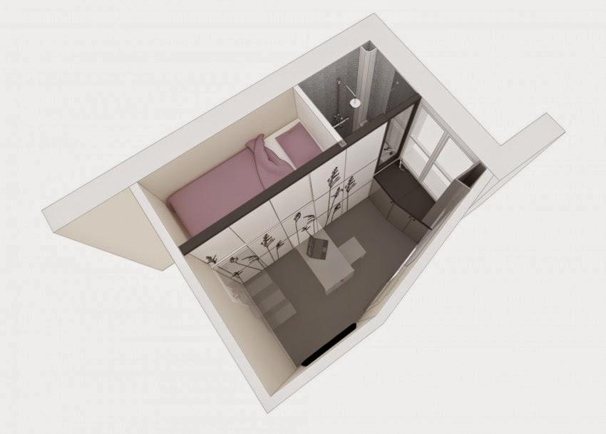 plan petit appartement