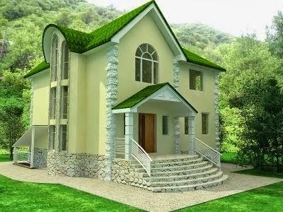Gambar Desain Rumah Minimalis Gaya Eropa Terbaru