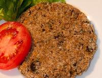 Hambúrguer de Berinjela, Amêndoas e Cereais (vegana)