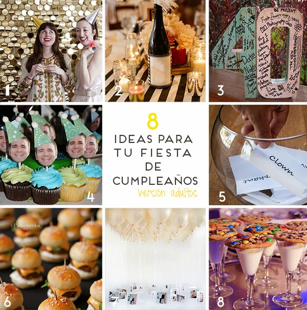 Fiestas y celebraciones - Ideas originales para cumpleanos adultos ...