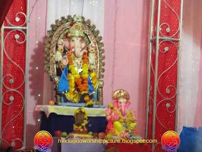 God Ganesh Chaturthi Phtos, Rander Road, Surat, Gujarat