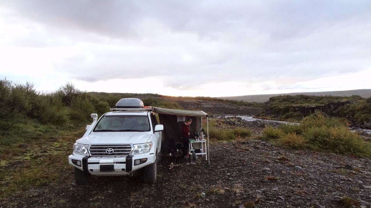 Romantische wildcamp Plätze auf Island. Hier kann man es eine weile aushalten :-)