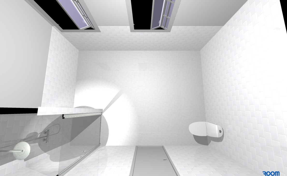 50 nyanser av vitt: kakel funderingar i badrum