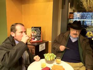 Un whisky con ghiaccio insieme a Umberto Eco