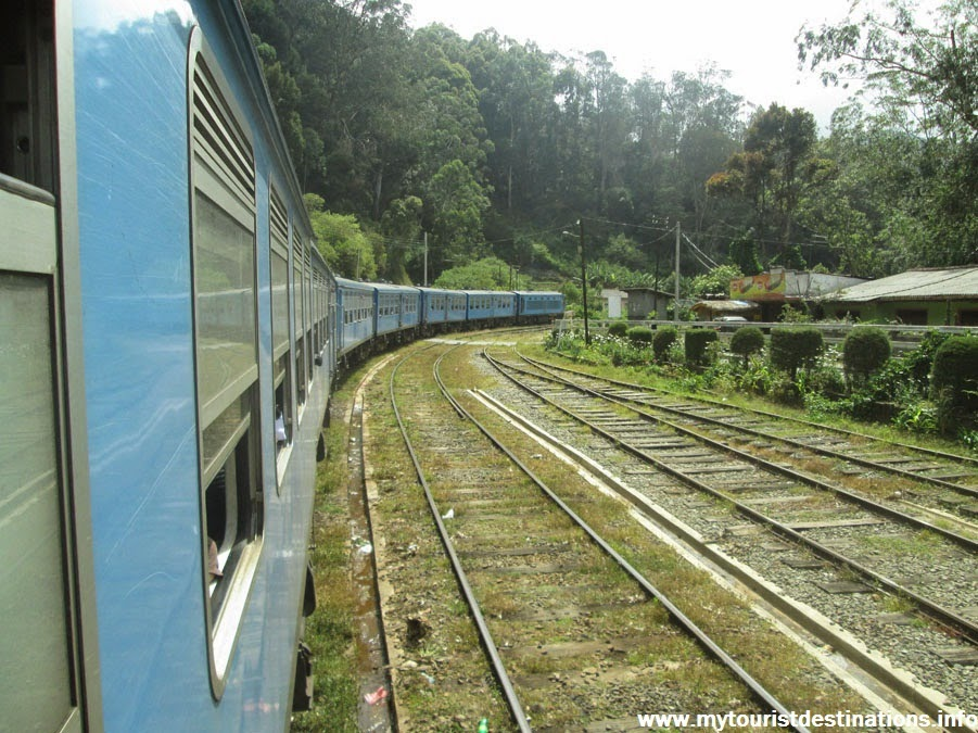 Train Journeys in Sri Lanka