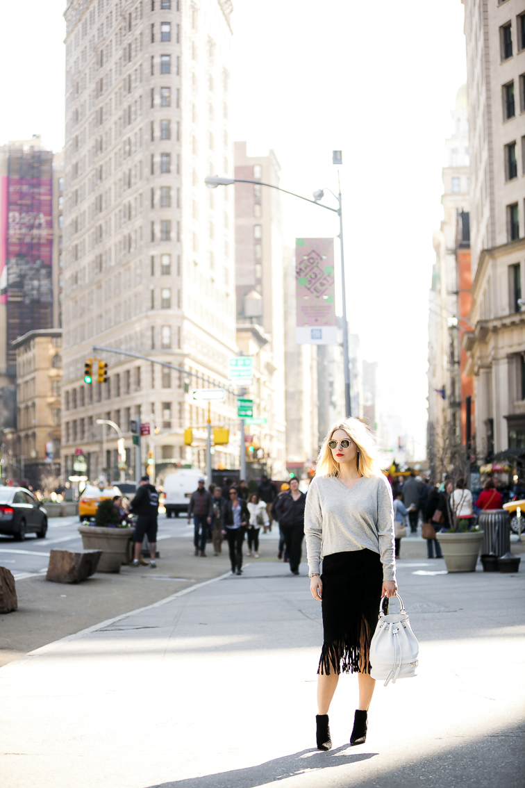 Flatiron Building, New York City, Fashion Over Reason, Street style