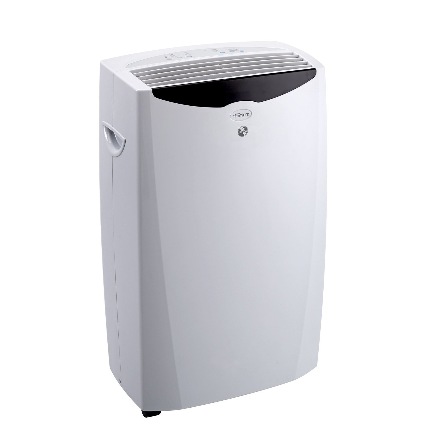DPAC12010H 12 000 BTU portable air conditioner with heater  Euro Grey #5D636E