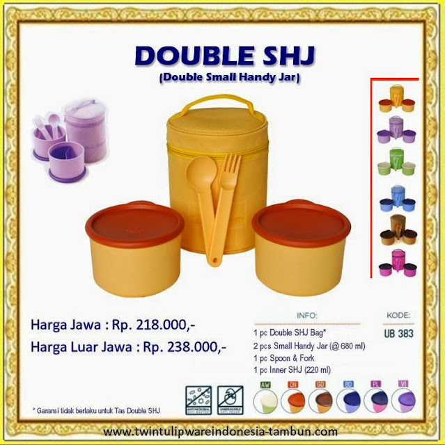 Double Small Handy Jar - SHJ Tulipware 2013