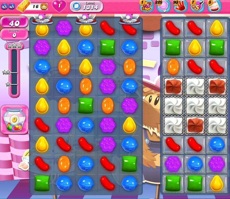 Candy Crush Saga 1314