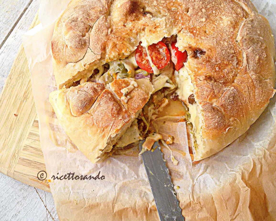 ricetta Calzone di cipolla alla barese per la pasta accorgimenti che utilizzo per preparare la pizza