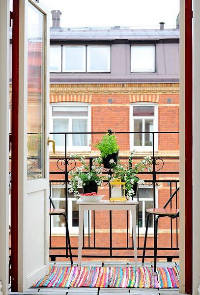 Decoraci n de un balc n peque o ideas para decorar dise ar y mejorar tu casa - Decorar balcon pequeno ...