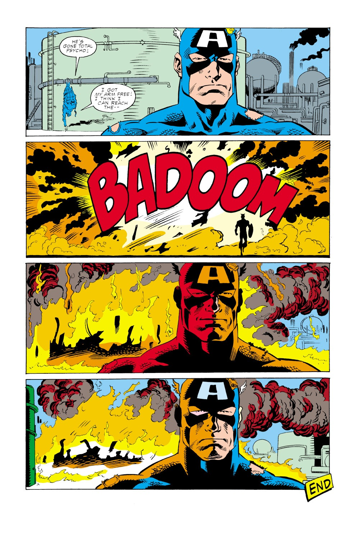 Captain America (1968) Issue #347 #277 - English 23