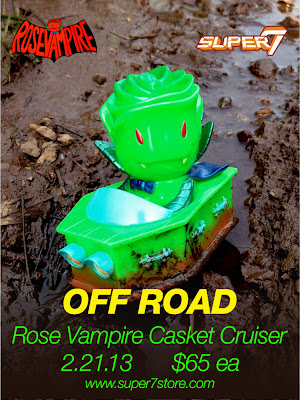 "Rose Vampire ""Off Road"" Casket Cruiser by Josh Herbolsheimer"