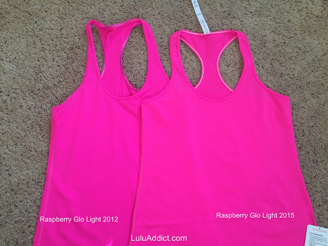 lululemon raspberry-glo-light-cool-racerback