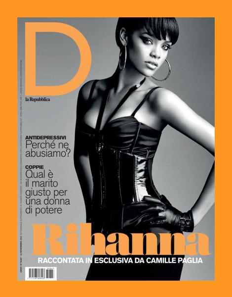 Rihanna covers D la Repubblica No. 867