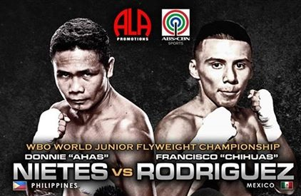 Pinoy Pride 31 | XXXI - Donnie Nietes vs Francisco Rodriguez Live Streaming, Fight Results, Video Replay