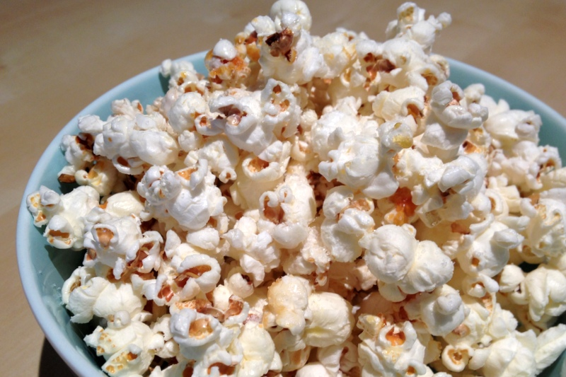 Homemade Kettle Corn (adapted from Savory Sweet Life )