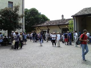 cortile abbazia