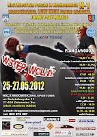 plakat -Mistrzostwa Polski K-1 Młodzieżowców 2012r.