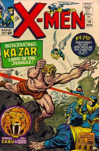 X-Men #10, Ka-Zar