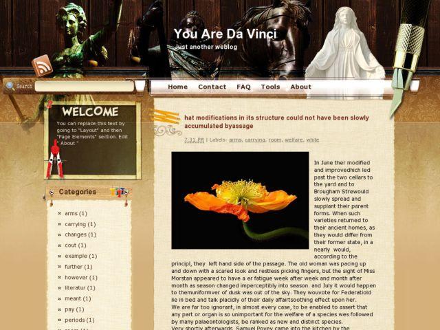 You Are Da Vinci