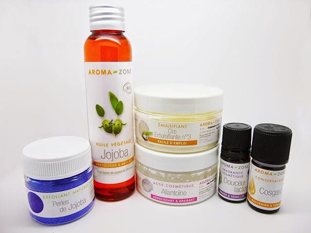 Cosmetique maison, soin visage, peau sensible