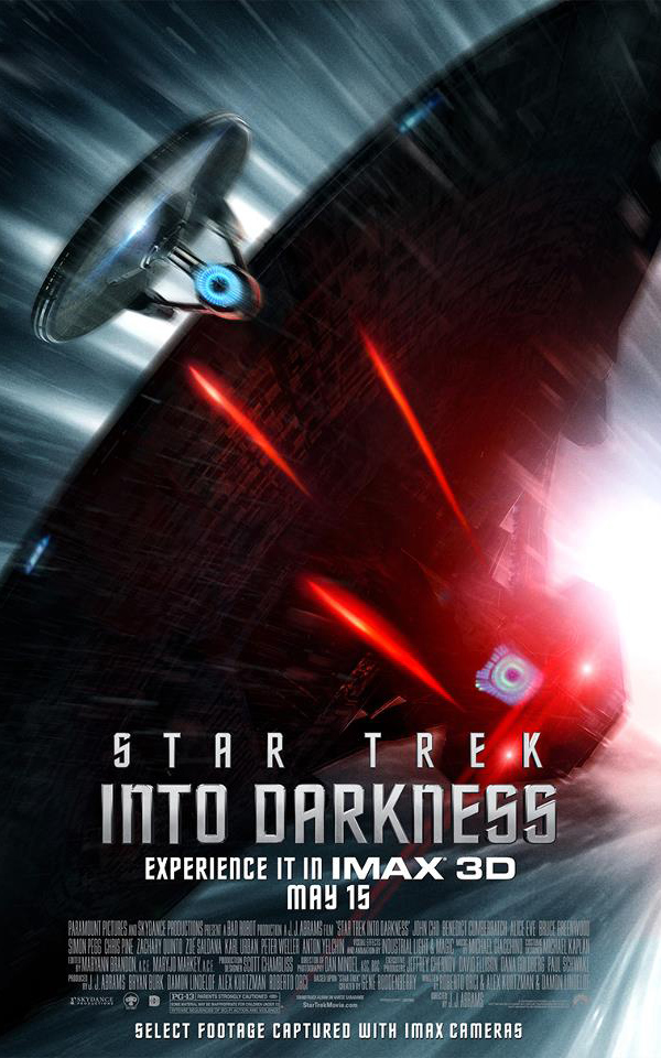 Star Trek Into Darkness USS Enterprise Poster