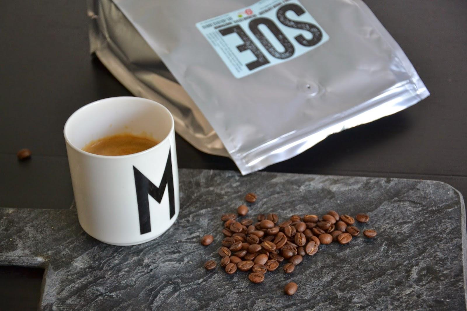 Kaffe pille kaffebønner for vekttap