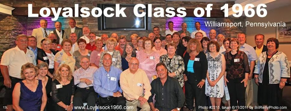 Class of 1966, Loyalsock Township High School, Williamsport Pa