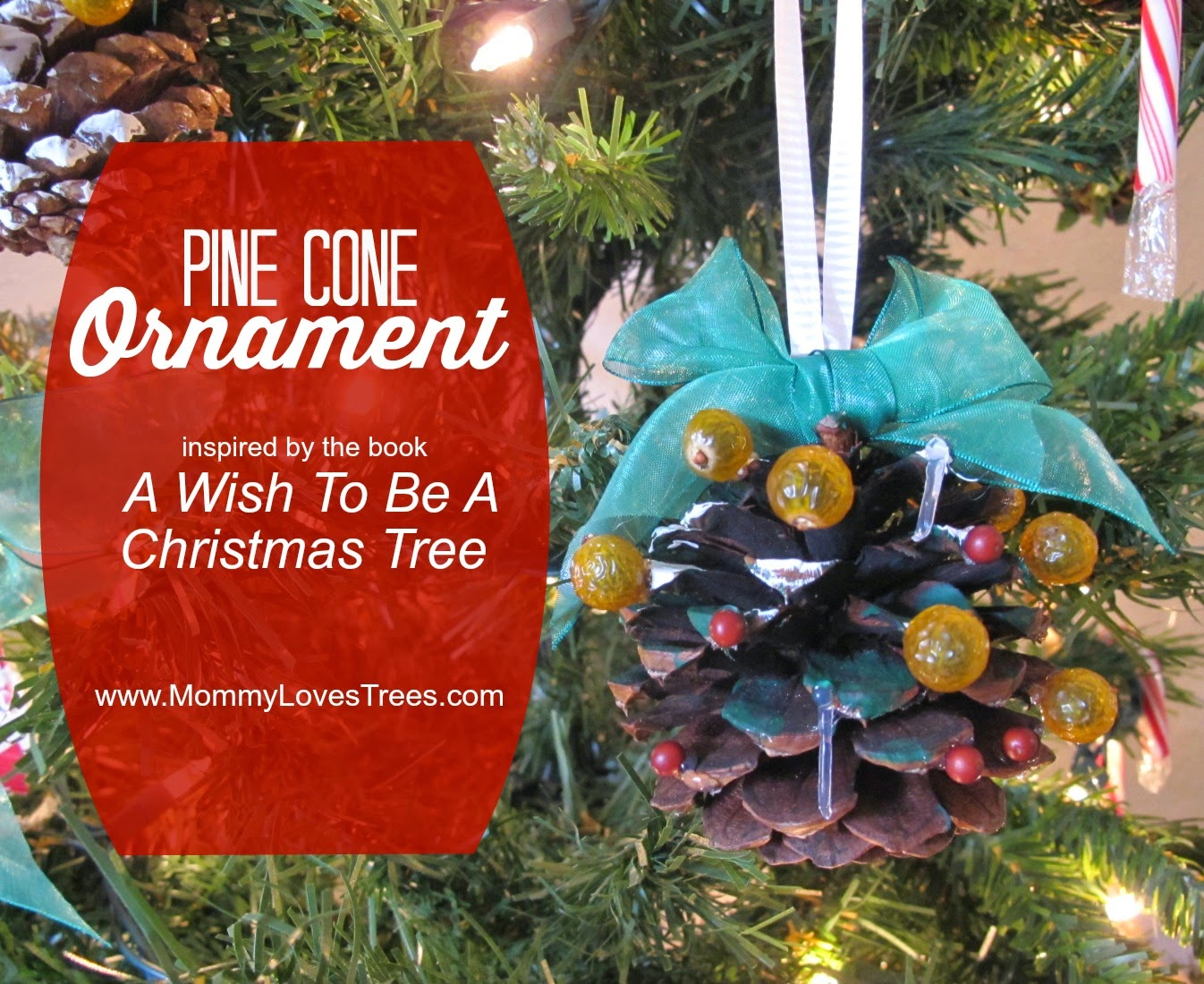 Nature Walk: Pine Cone Ornament