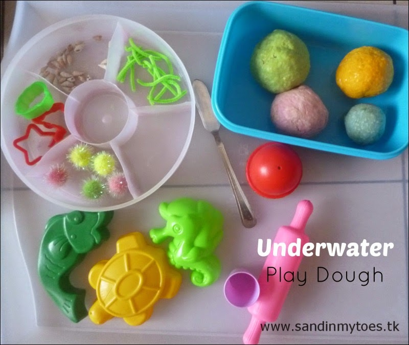 Underwater Play Dough Elements
