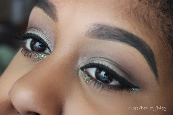 urban decay and kat von d makeup look