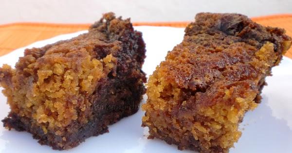 ... de Eva: Pastelitos de calabaza y Nocilla (Pumpkin Nutela snack cake
