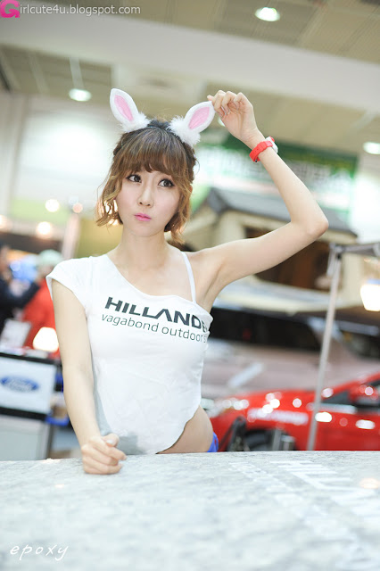 6 Choi Byeol Yee at Korea Autocamping Show 20-very cute asian girl-girlcute4u.blogspot.com