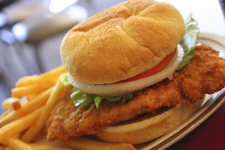 Famous Iowa Pork Tenderloin Sandwich