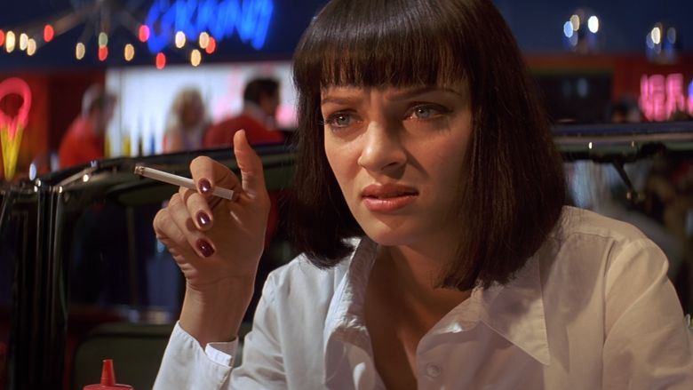 Uma Thurman Pulp Fiction NefariouslyNiftyNails:...