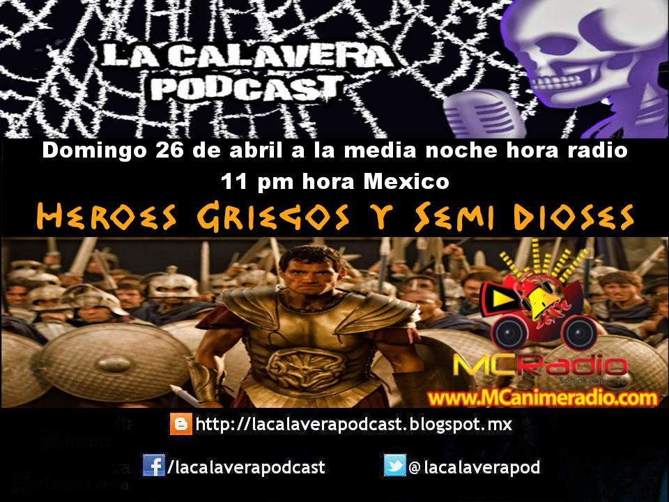 No se olviden de escucharnos este domingo 26 de abril a las 11 pm hora México