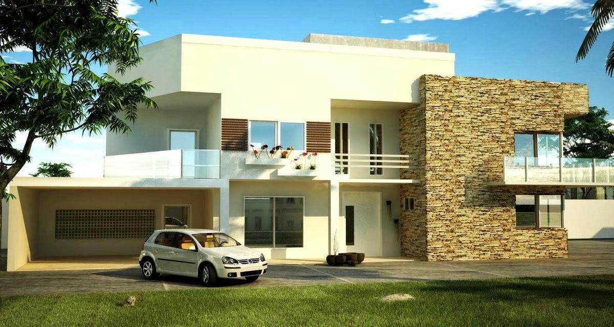 Fachadas de casas de sobrados veja 50 modelos lindos for Fachadas para residencias
