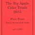 Big Apple CIder Trials 2013... another win for 146 Cider