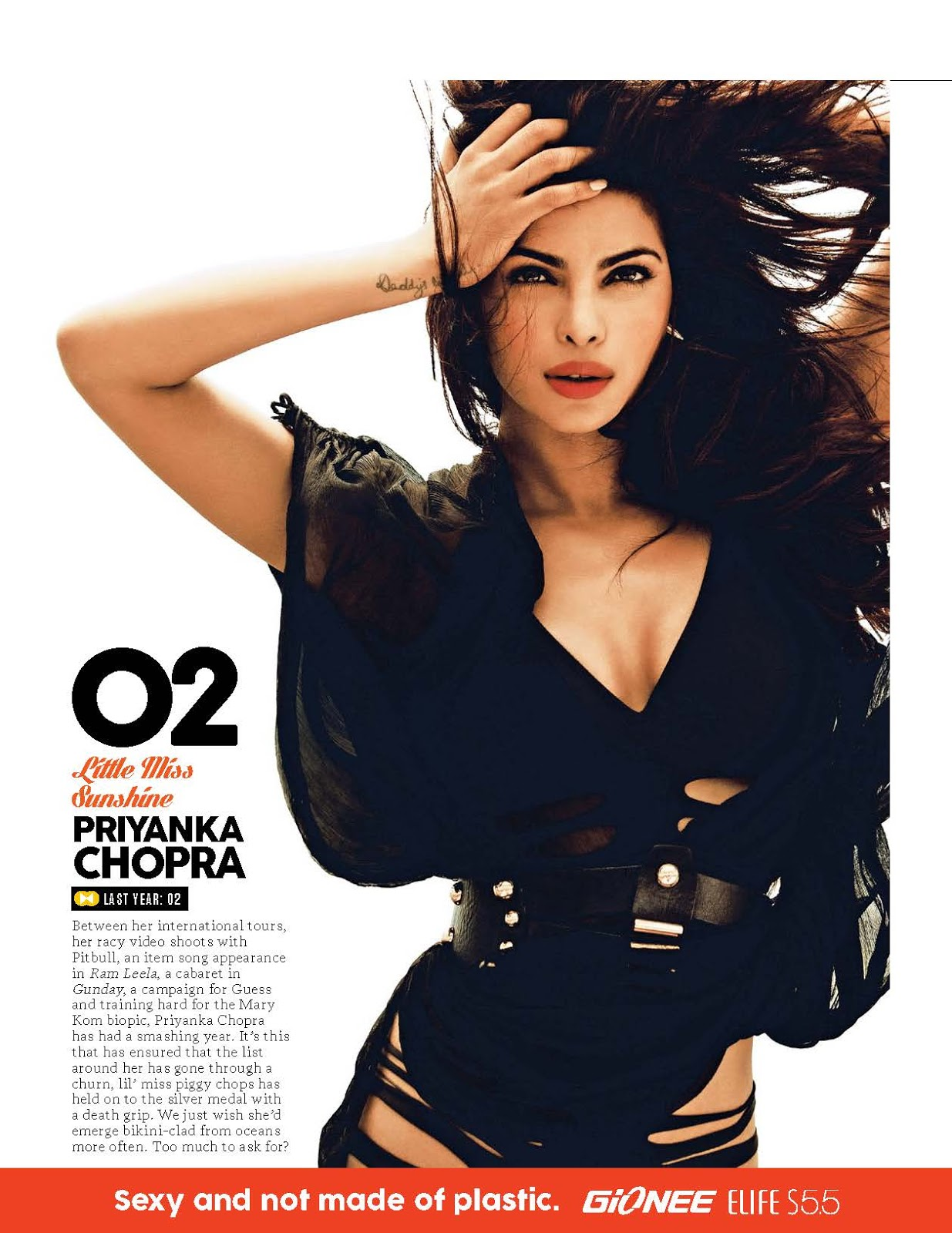 Glamourous Priyanka Chopra FHM magazine