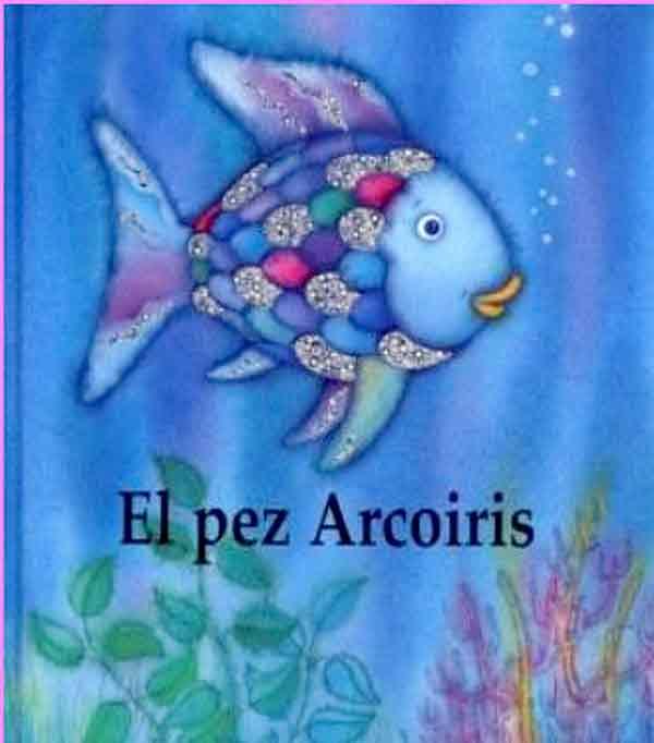 Imagenes de dibujos animados: El Pez Arcoiris