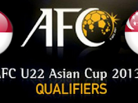 Kualifikasi AFC U22 2013 : Indonesia vs Singapura